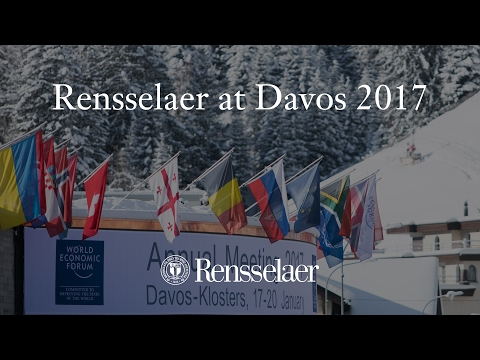 Davos 2017: Rensselaer on the World Stage