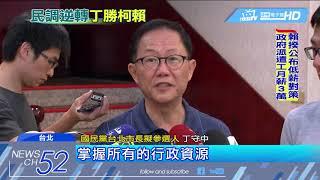20180514中天新聞 旺旺中時最新民調 柯文哲36.5%敗給丁守中42.7%