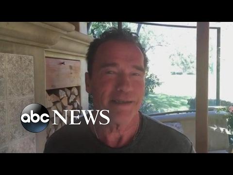 Arnold Schwarzenegger Fires Back at President Trump