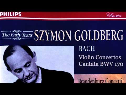 Bach - Violin Concertos & Double Violins Concertos (Century's recording : Szymon Goldberg)
