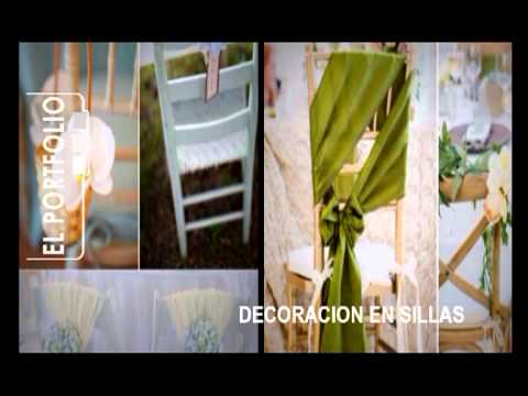 Ideas decoracion de sillas youtube - Sillas de decoracion ...