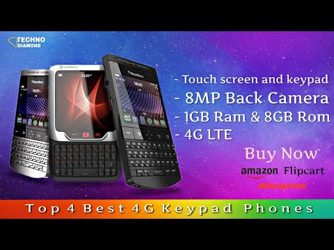 Top 4 Best 4G Keypad Phones Available On Amazon , Flipkart || Rs.4,000 , Rs.5,000.