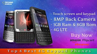 Top 4 Best 4G Keypad Phones Available on amazon , Flipcart || Rs.4,000 , Rs.5,000.
