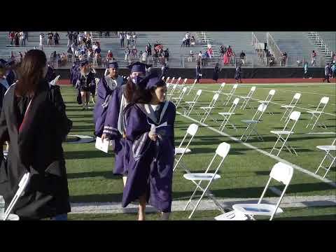 Collegiate High School Graduation 2020