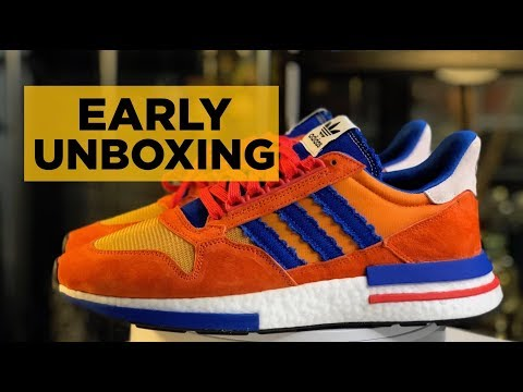 EARLY UNBOXING: ADIDAS x DRAGON BALL Z