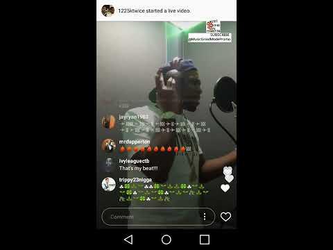 Curren$y | Live on Instagram | Recording in the studio