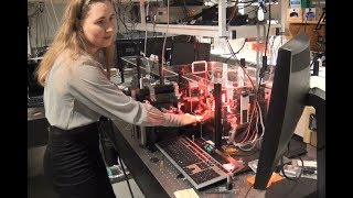 Naja Villadsen har lavet en ph.d. i kemi på trods af, at hun er ordblind