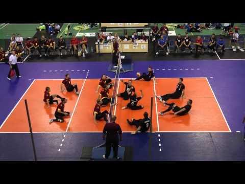 Волейбол сидя/Чемпионат Европы-2013/Матч за 3 место/Украина-Германия