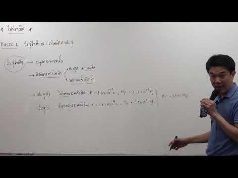 ฟิสิกส์ ม.5 เทอม 2 ครั้งที่ 01