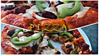 Perfect PIZZA Dough and PIZZA Making Without Oven ||with Subtitles ||Ali's Cafe Recipe no#35 ||Ep#46