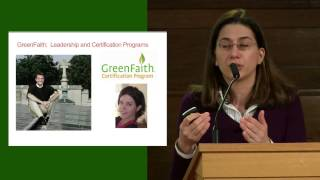 Dina Biscotti: Faith-Based Organizations and the Religious Environmental Movement
