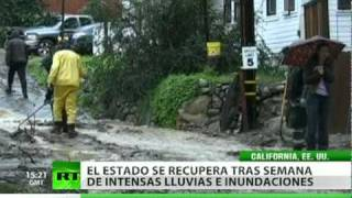 California declara el estado de emergencia por las fuertes lluvias