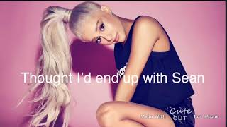 Ariana Grande - Thank you, next (lyrics)