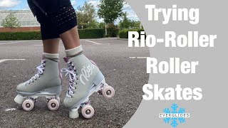 Trying Rio-Roller Roller Skates | Product Review | Part Two | EVERGLIDES |