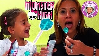 Monster High Popping Candy Dip Lolly - cooler Lutscher mit Knisterspaß - Kinderkanal