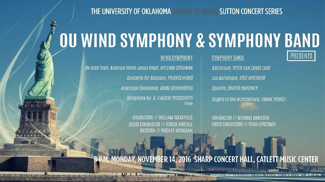 OU School of Music: Wind Symphony and Symphony Band - YouTube