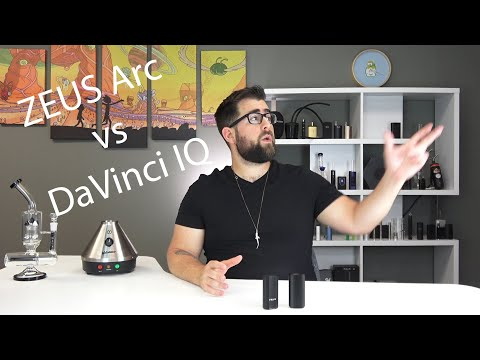 Zeus Arc vs DaVinci IQ Vaporizer Comparison Review