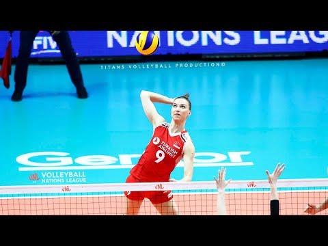 Meliha Ismailoglu - BEST Volleyball Actions | Women's Volleyball Nations League 2019