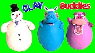 Clay Buddies Doc McStuffins do Desenho Doutora Brinquedos Massinhas Play Doh Surprise