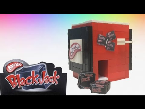 LEGO Mini Candy Machine   Barrett's Black Jack's
