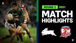 Walker dominant as Bunnies defeat injury-ravaged Roosters   Round 3 2021   Match Highlights   NRL
