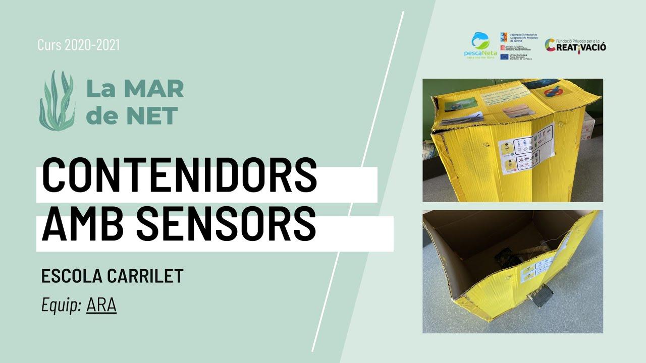 """""""Contenidors amb sensors"""" - Escola Carrilet"""