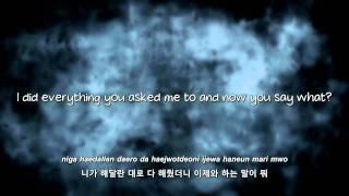 G-Dragon- She's Gone lyrics [Eng. | Rom. | Han.]