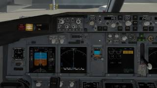 X-PLANE 11 B737-800X startup and Fly