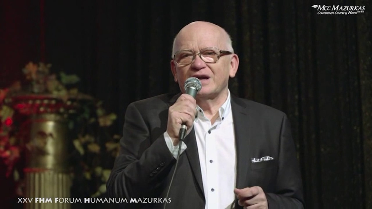 XXV Forum Humanum Mazurkas- Benefis Z.Słowińskiego-otwarcie wieczoru