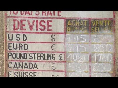 Rwanda, Le franc rwandais en dépressation face au dollar américain