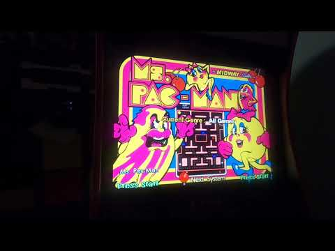 Arcade1Up Pacman to Hyperspin MAME Part 3 - Testing Hyperspin from Phreakwar PC Custom Builds