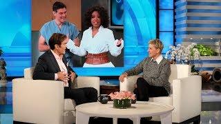 Dr. Oz Checks Out Ellen's Hurt Neck