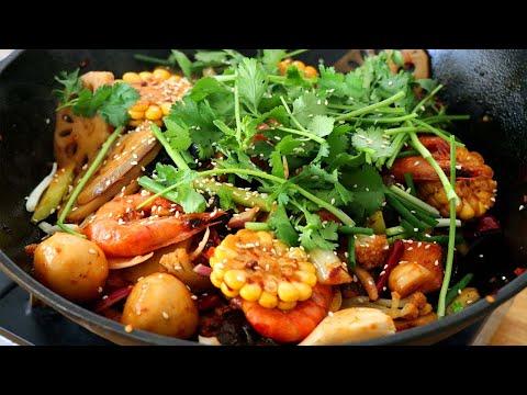 麻辣香鍋在家自己做的方法,材料新鮮,簡單易學,比外面賣的還好吃! 【夏媽廚房】