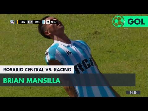 Brian Mansilla (0-1) Rosario Central vs Racing | Fecha 24 - Superliga Argentina 2017/2018