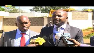 Moses Kuria records statement with CID