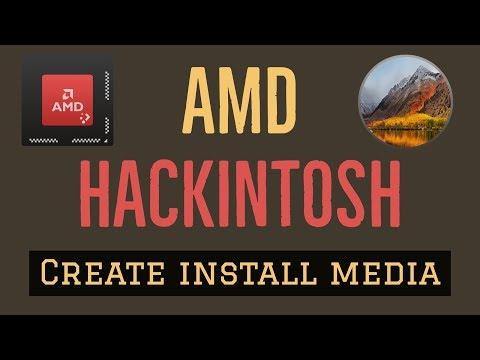 Create High Sierra bootable USB using Createinstallmedia and install on AMD system's