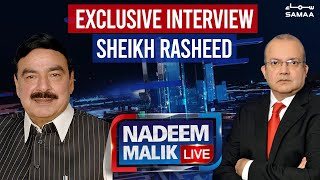 Nadeem Malik Live | Exclusive Interview Sheikh Rasheed | SAMAA TV | 08 March 2021