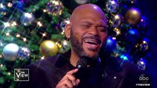 Clay Aiken And Ruben Studdard Perform 'O Holy Night' | The View
