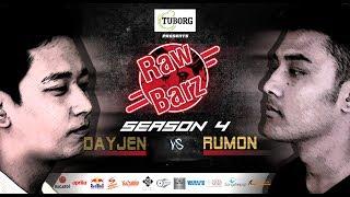 DAYJEN VS RUMON (Official Battle) | Tuborg Presents RawBarz Rap Battle S04E01