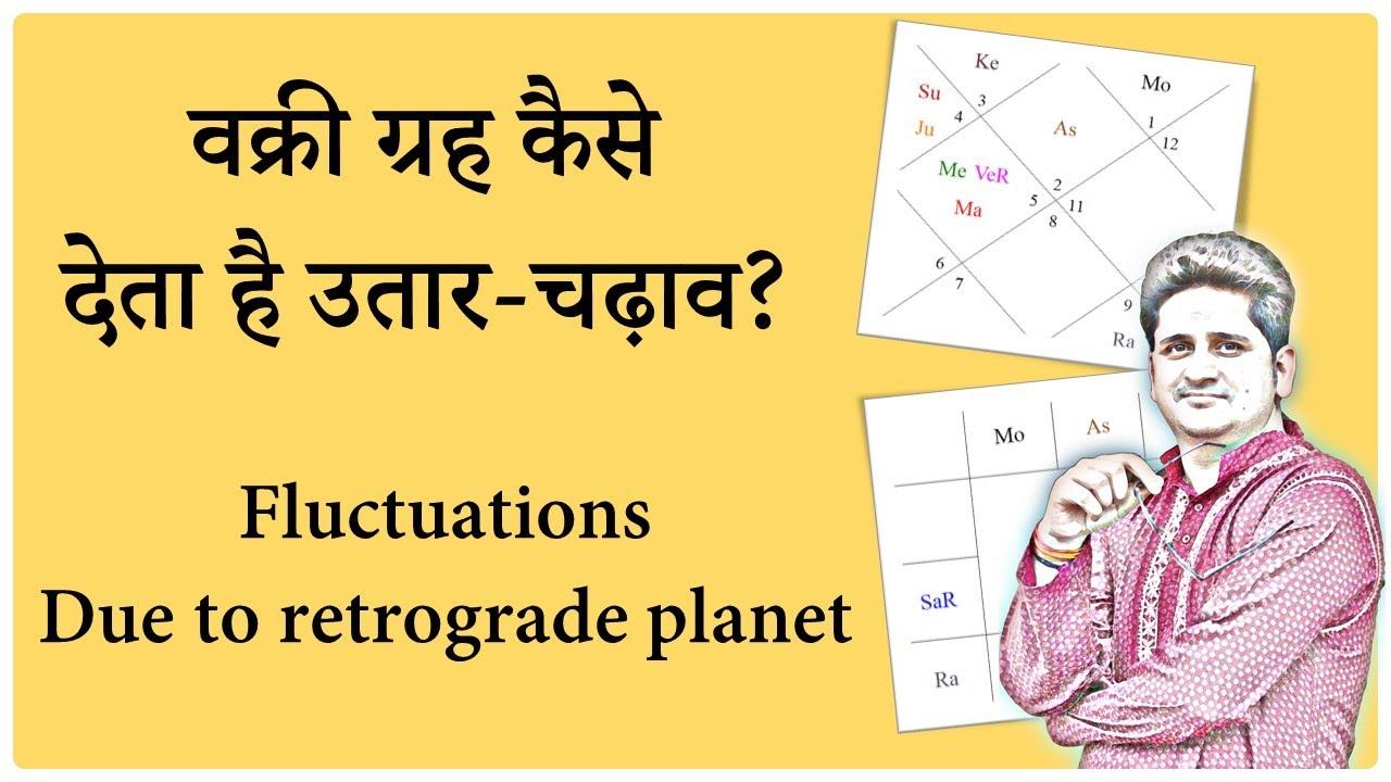 Vakri Graha series |Retrograde planets in Kundali & fluctuations | वक्री ग्रह कब देते है उतार चढ़ाव