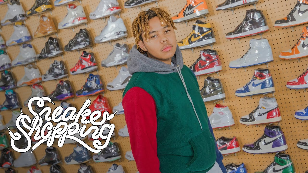 YBN Cordae Goes Sneaker Shopping With Complex