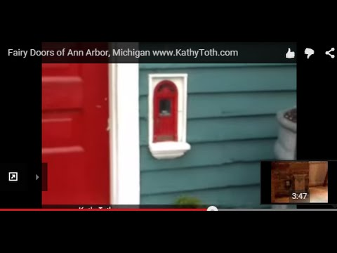 Ann Arbor Area Real Estate: Fairy Doors of Ann Arbor, Michigan www.KathyToth.com