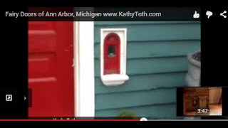 Fairy Doors of Ann Arbor, Michigan www.KathyToth.com