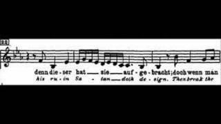 Bach: Cantata BWV 54, II-III Rezitativ&Arie - Andreas Scholl