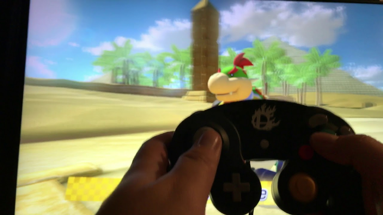 Gamecube Controller Adapter Working On Mario Kart 8 Deluxe For Nintendo Switch