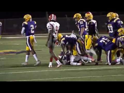 J.S. Clark High School  vs.  Lutcher High School Football Highlights  10-6-16