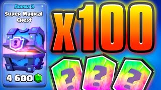 Clash Royale 100+ SUPER Magical Chests [500,000 GEMS] thumbnail