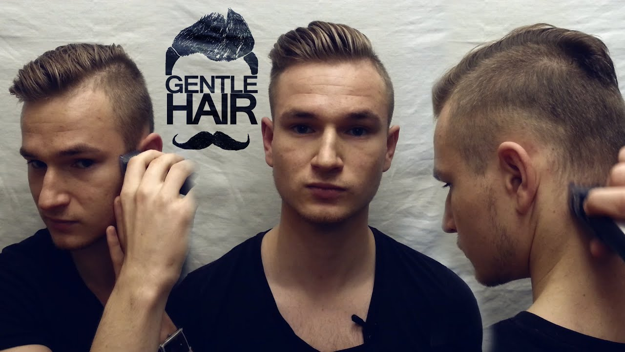 Trim, fade, edge your sides and back by yourself  How to cut your own hair  for men  GentleHair