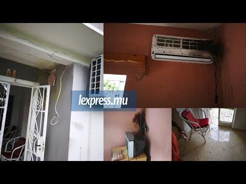 À Roches-Noires: la foudre s'abat sur une maison