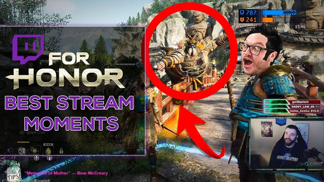 [For Honor] - Weird, Funny & Epic Stream Moments!